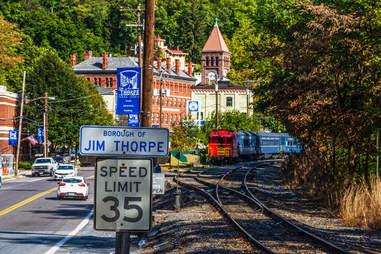 jim thorpe railroad