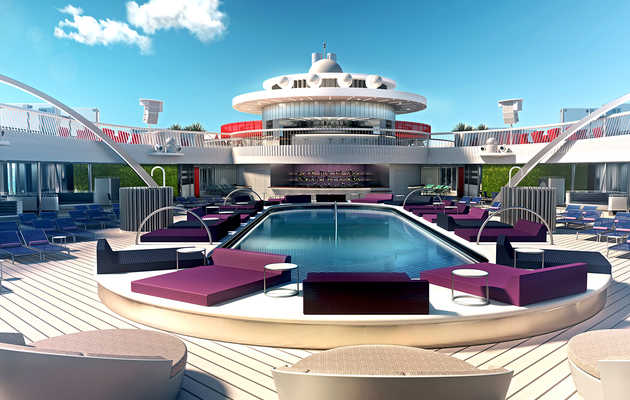 How to Spend a Day Aboard Virgin Voyages' First Cruise Ship