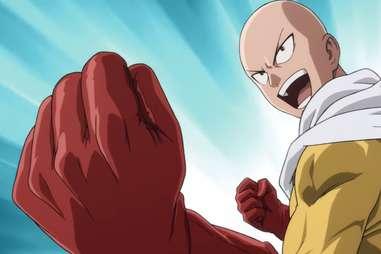one punch man, saitama