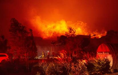 fire at soda rock winery