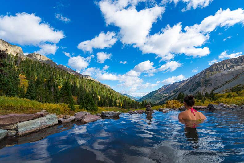 conundrum hot springs