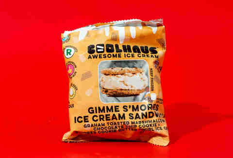 coolhaus gimme s'mores ice cream sandwich