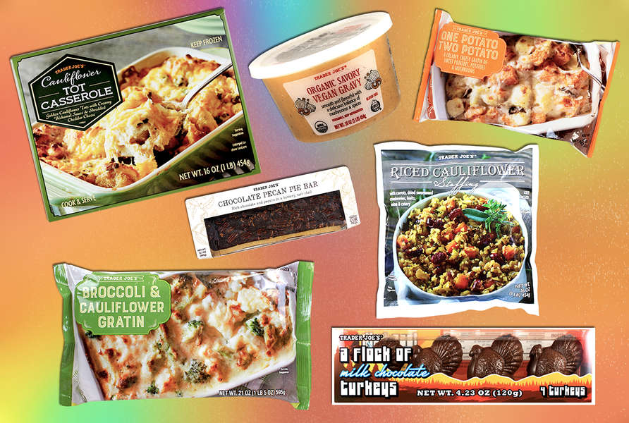Trader Joe's Best Thanksgiving Foods for Lazy People