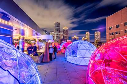Outlook Kitchen igloos