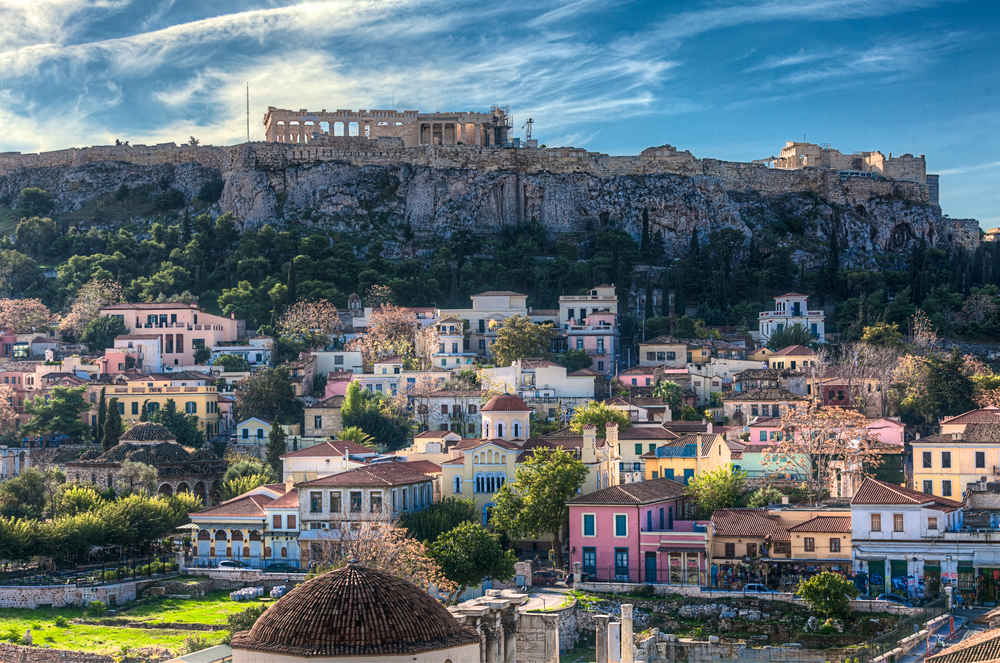 This Luxury Airline Just Cut Prices on Flights to Athens