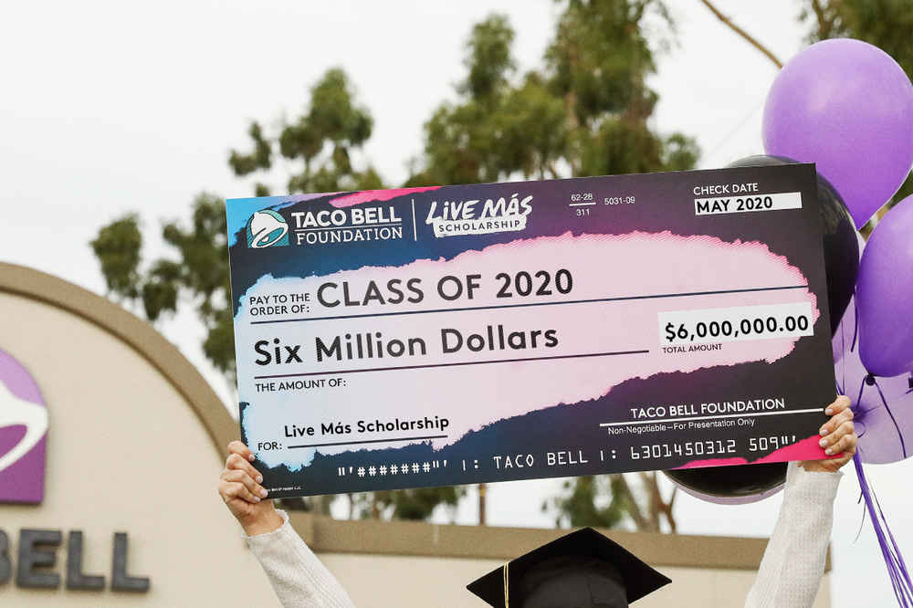 Taco Bell Is Giving Out $6 Million in Scholarship Cash. Here's Hot to Get Some.