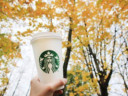 Starbucks Veterans Day free coffee