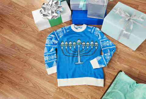 hidden valley ranch Hannukah sweater