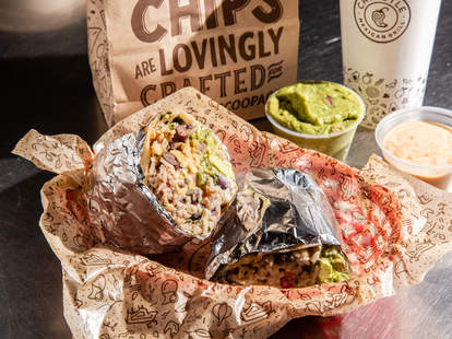 chipotle free delivery fast casual burritos bowl burrito tacos steak carne asada new promotion