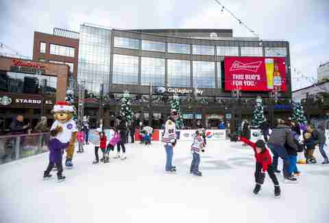 Gallagher Way Chicago ice skating