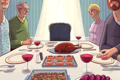 family thanksgiving sweet potato