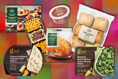 target thanksgiving food