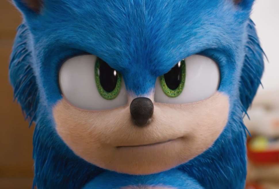 Sonic in the new movie