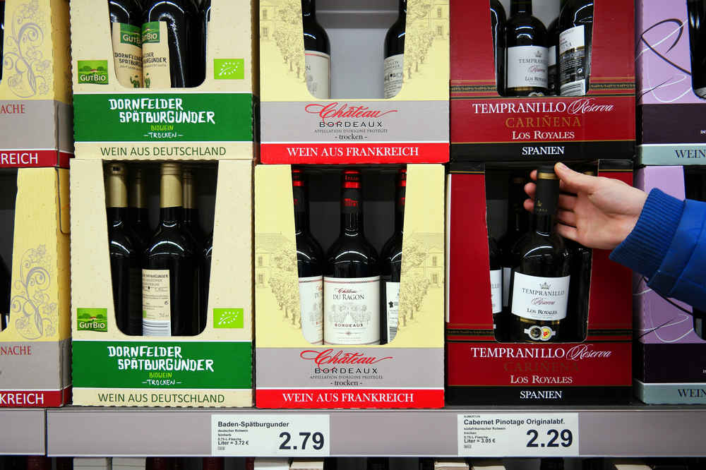 Aldi Will Deliver Its $5 Wine & Other Liquor Straight to Your Door