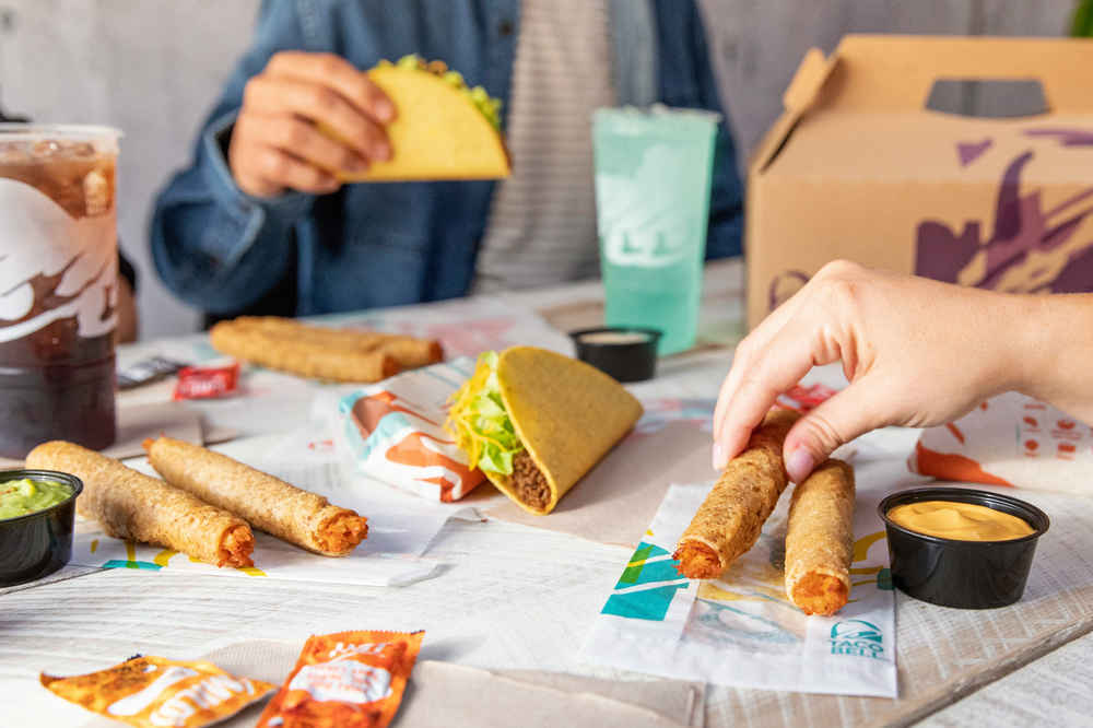 Taco Bell Is Making Special Thanksgiving Packs Filled With Rolled Chicken Tacos