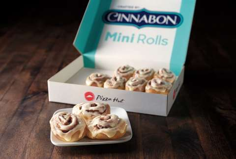 pizza hut cinnabon mini cinnamon rolls cinnarolls free deal promotion
