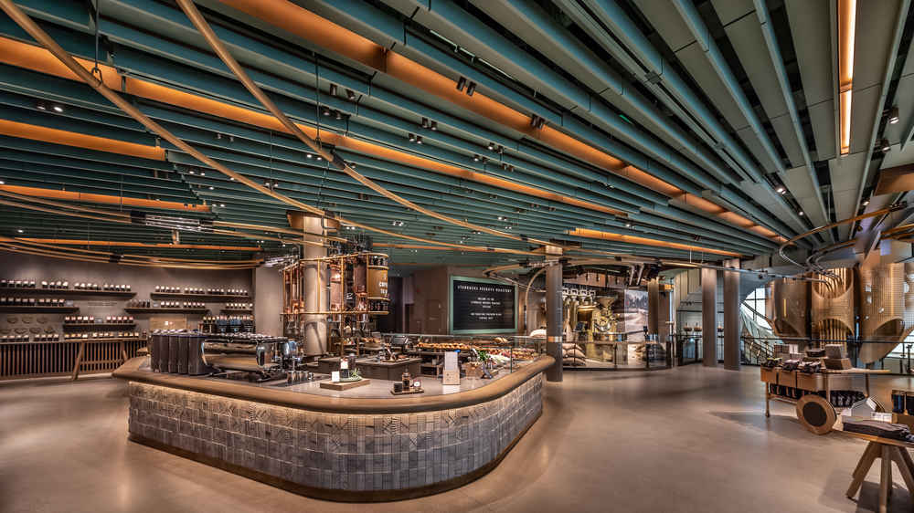 The World's Largest Starbucks Opens Today. Here's a Look Inside.