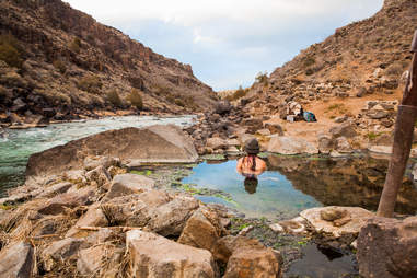 Manby Hot Springs by Rio Grande