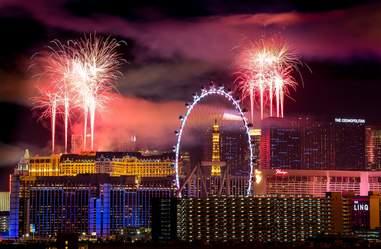 Las Vegas NYE fireworks