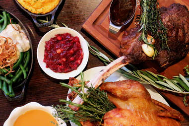 Deuxave thanksgiving menu