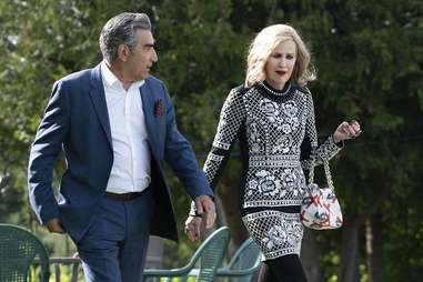 eugene levy and catherine o'hara in schitt's creek