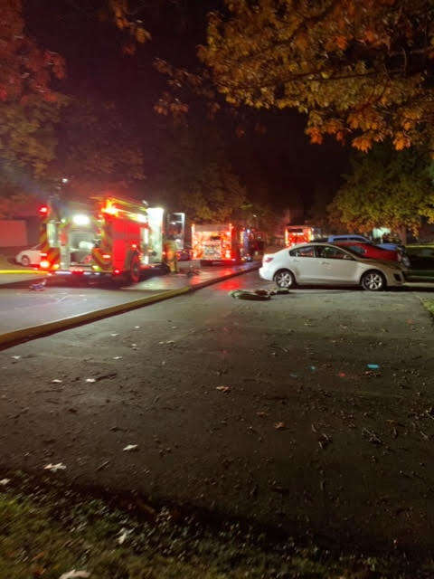 Lansing NY apartment fire
