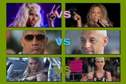 celebrity feuds