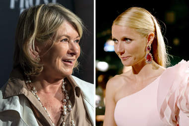 martha stewart gwyneth paltrow