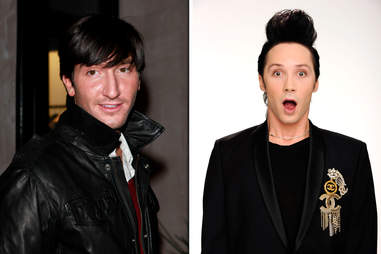 Johnny Weir Evan Lysacek