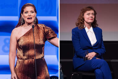 Debra Messing Susan Sarandon