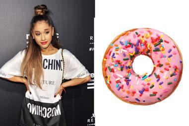 ariana grande donut