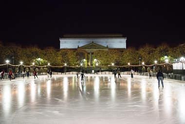 ice skating sculpture garden dc