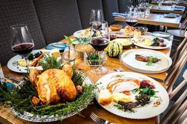 thanksgiving dinner gravitas dc