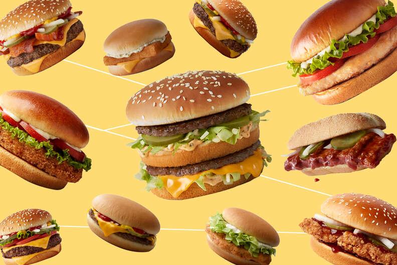 mcdonald's sandwiches burgers mickey dees ranked thrillist