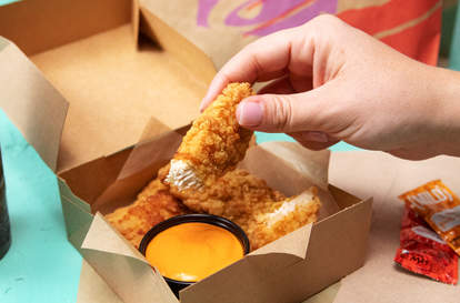 taco bell chicken tenders tortilla crusted chips new product menu item