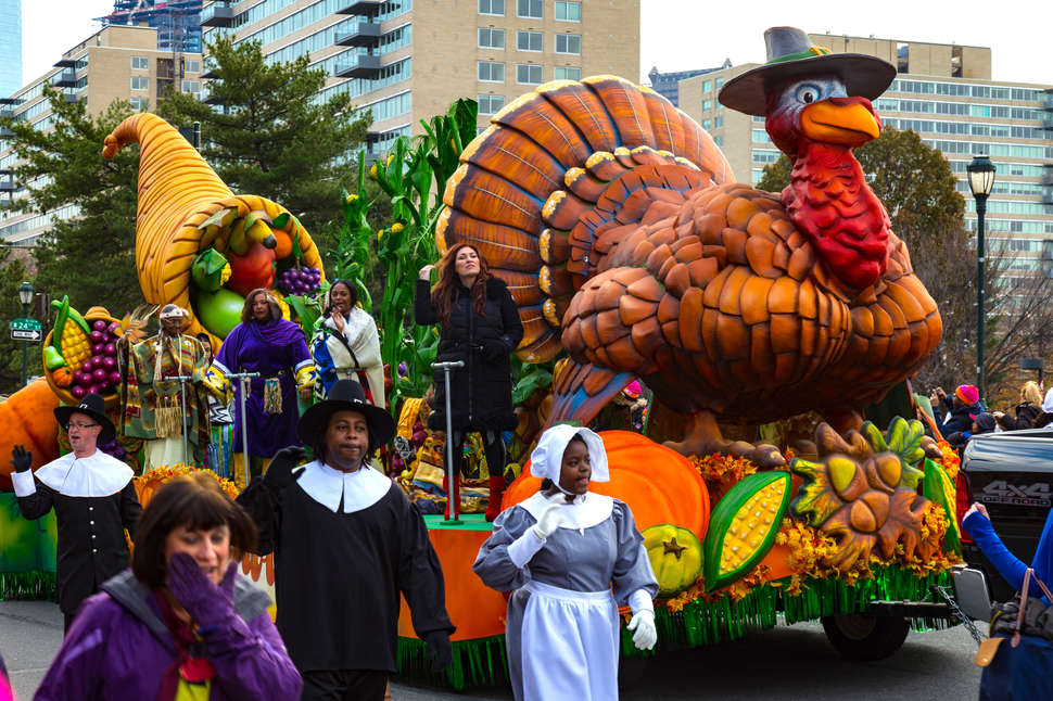 Bountiful Harvest float