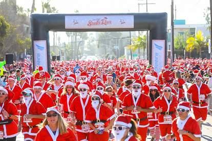 San Diego Santa Run 5K