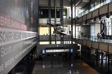 main hall newseum dc