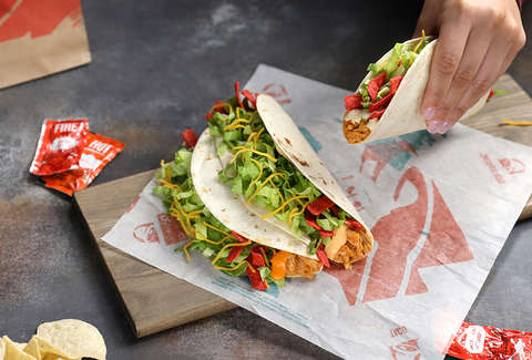 taco bell shredded chicken buffalo new launch product