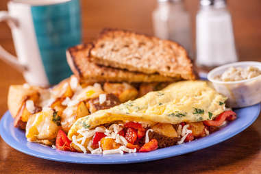Squeeze In omelette