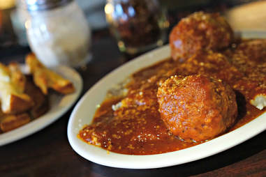 Casale's Halfway Club meatballs