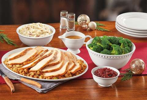 denny's dennys thanksgiving feast dinner food
