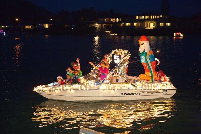 Festival of Lights Boat Parade