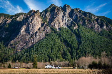 Mt Si in the Snoqualmie Valley