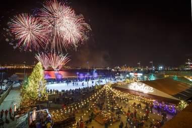 Blue Cross RiverRink Winterfest fireworks