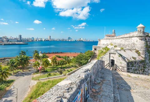 The fortress of El Morro in Havana