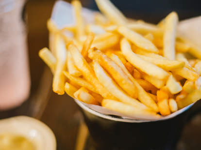 french fries shortage fry