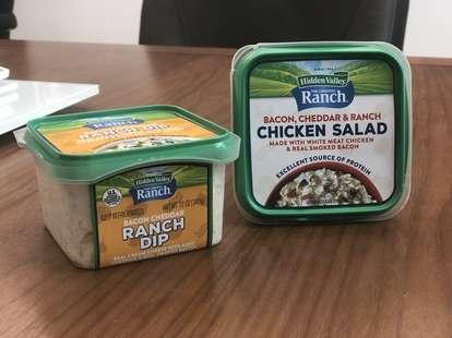 hidden valley ranch chicken salad dip new duke