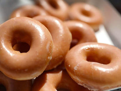 Krispy Kreme $1 dozen