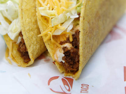 taco bell europe test plant based meat meatless vegan tacos